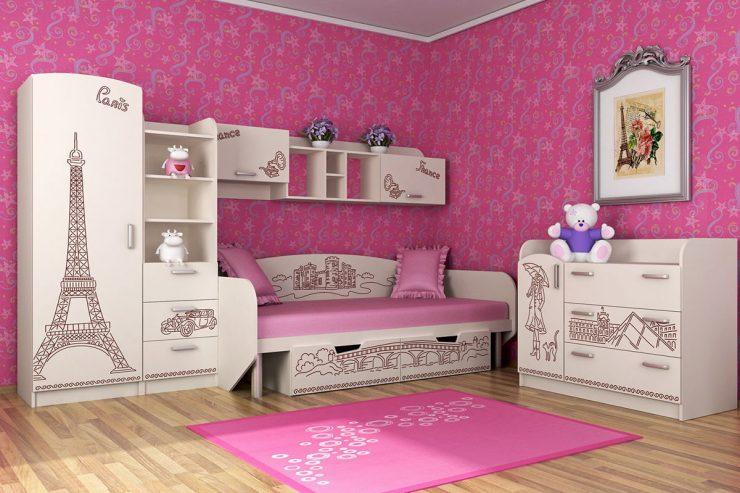 диван кровать девочка