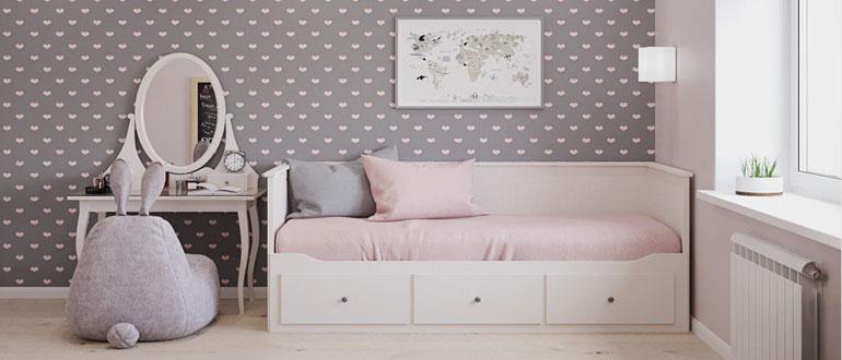 диван-кровать-для-девочки