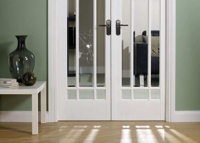 межкомнатные стекло двери