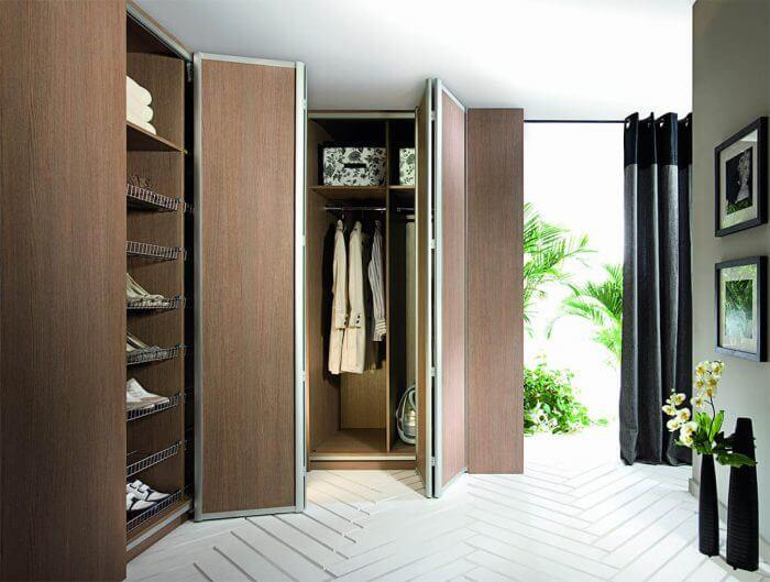 шкафы гармошка
