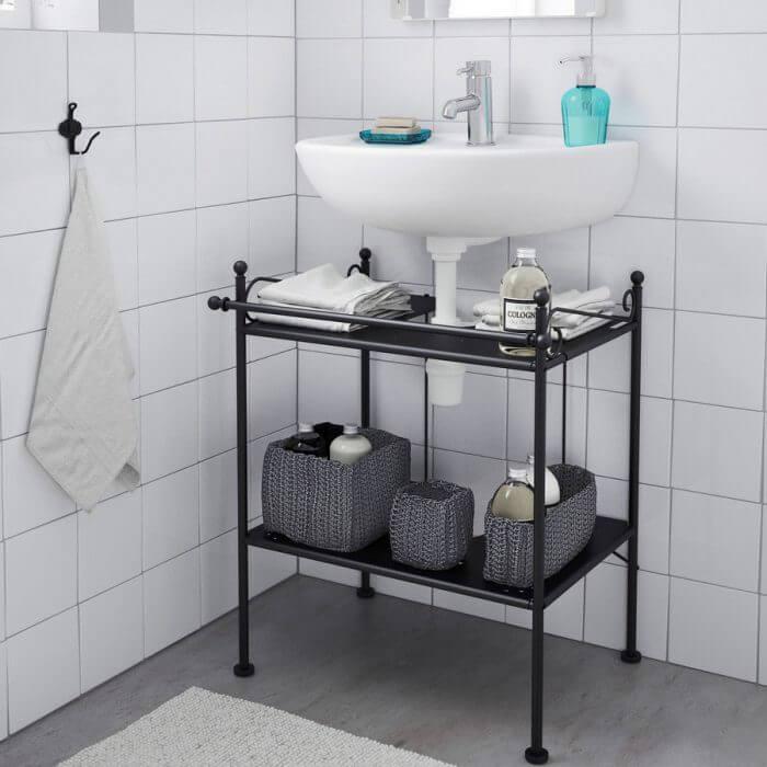 стеллаж ванная