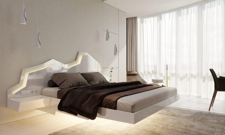 парит кровать