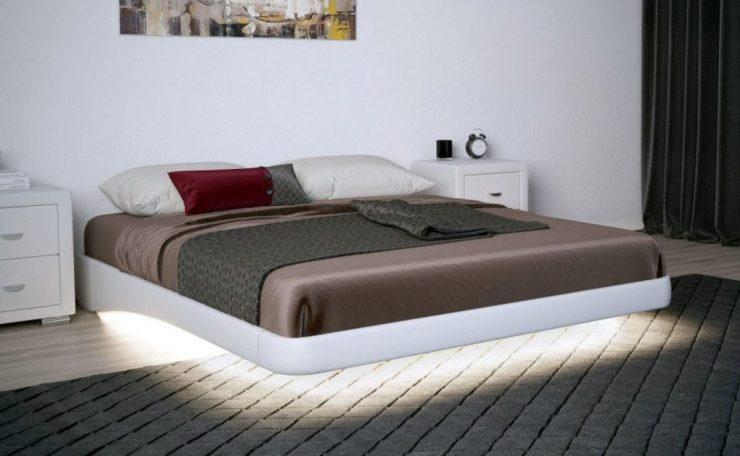 парящие кровати