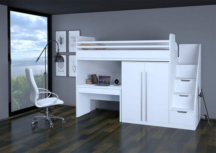 кровать и стол выдвижной