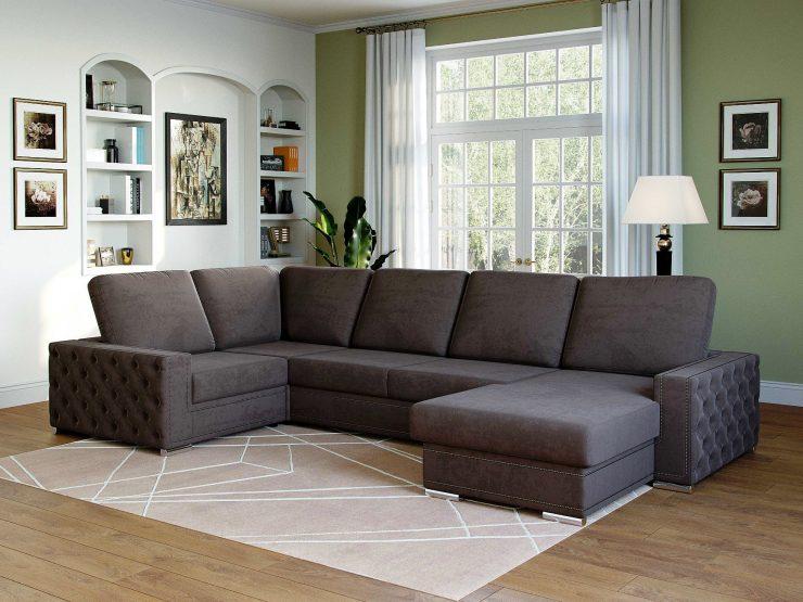 п образный диван