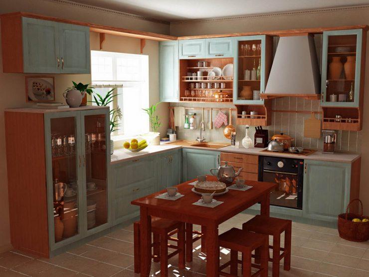 кантри для кухни