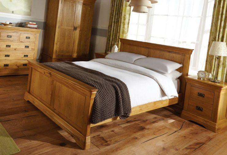 кровать материал