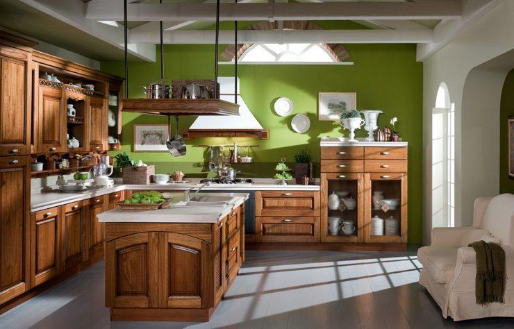 кухня стиль кантри