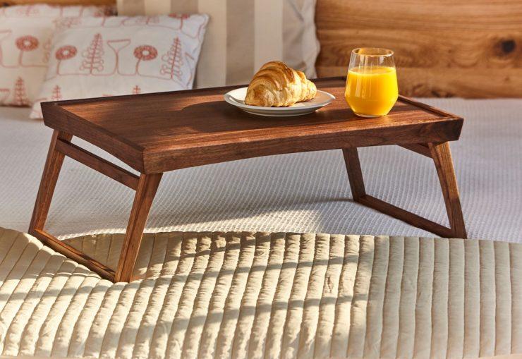 столик завтрак