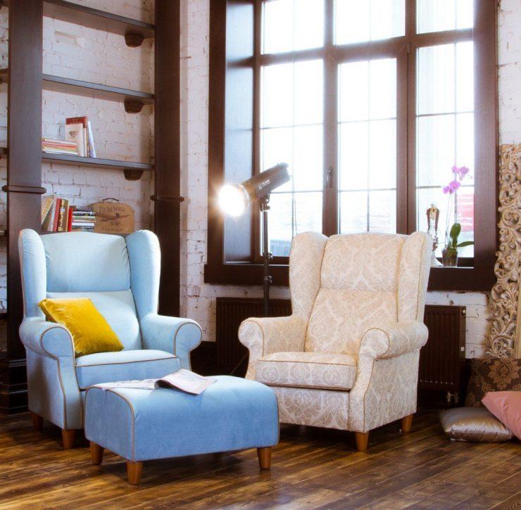 кресло для камина