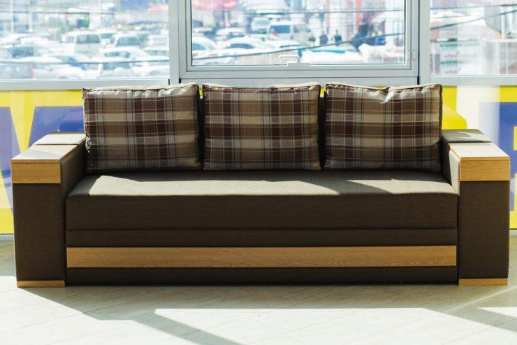 ткани диван