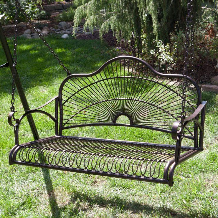 мебель сад металл