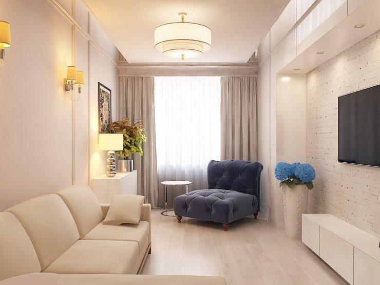 гостиная маленькая мебель