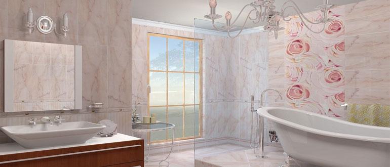 как-повесить-зеркало-в-ванной-на-плитку