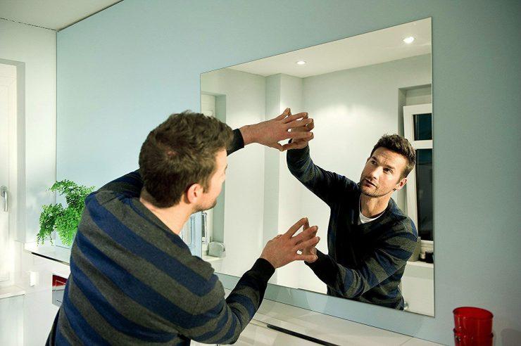 клей зеркало на плитку