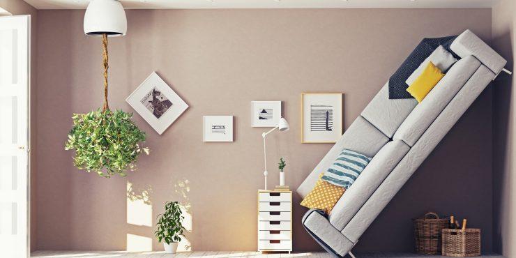 мебель в комнате ошибки