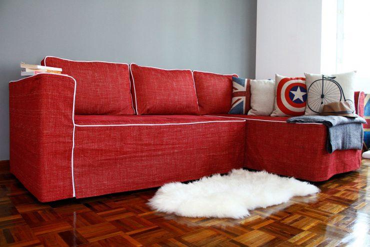 перетянуть диван