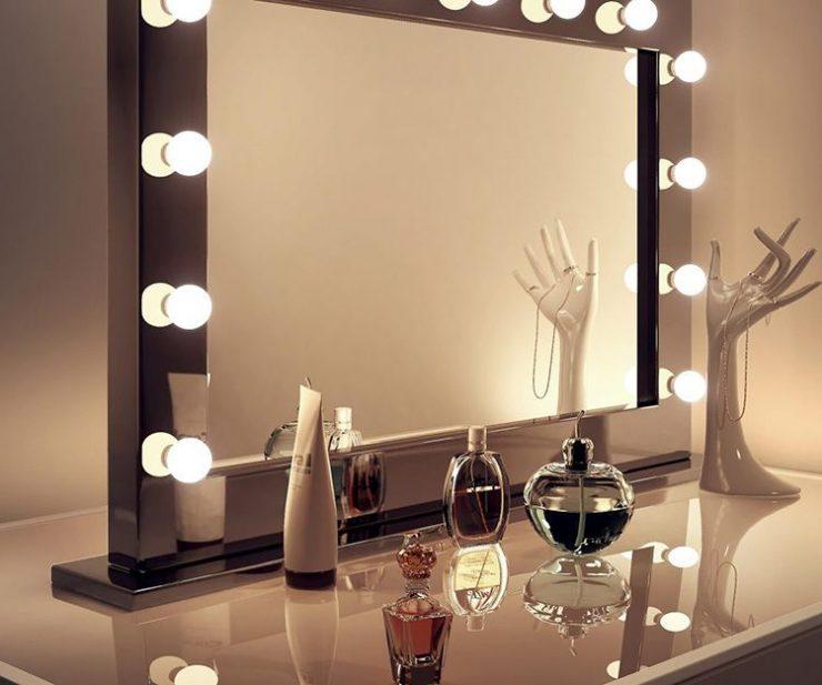 подсветка зеркало