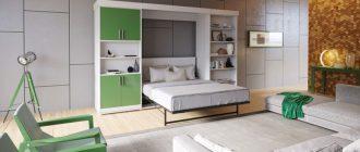 кровать-в-стене