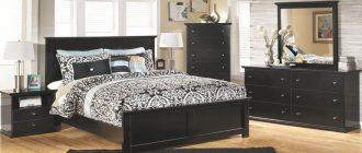 спальня-с-темной-мебелью